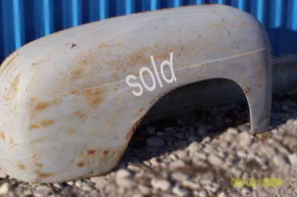 Ford 1/2 ton pickup fenders 1948, 1949, early 1950
